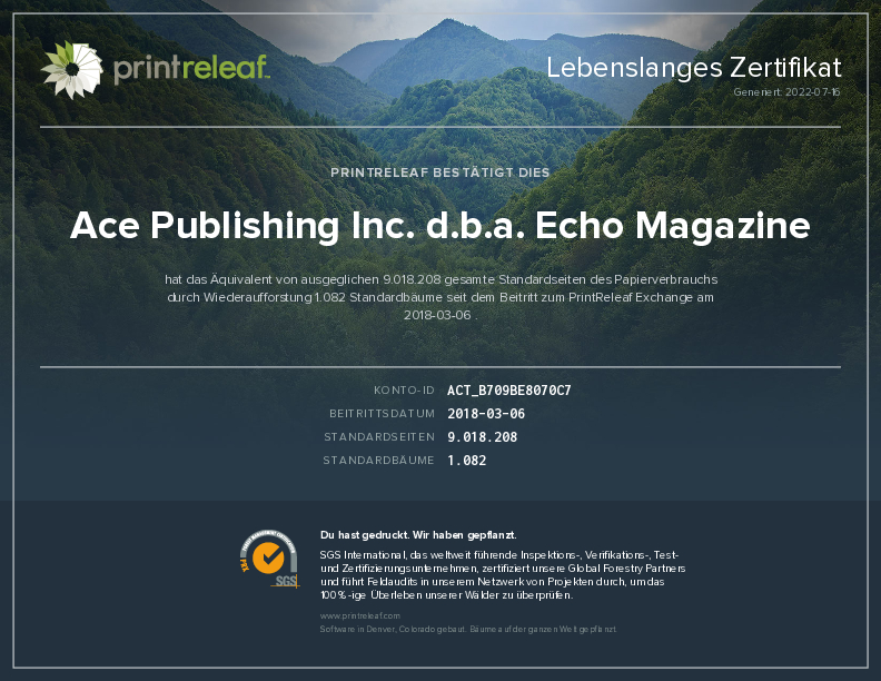 Echo Magazine dating